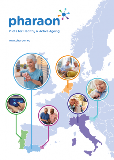 PHARAON - Pilots for Healthy & Active Ageing - Leaflet Cover