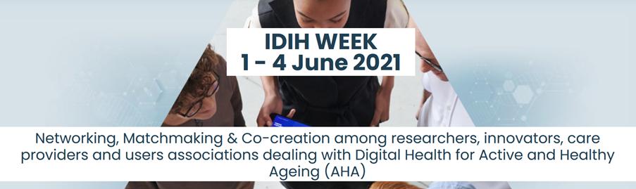 Ad banner IDIH Week 2021